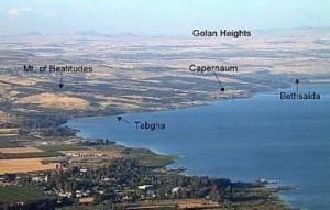 Північне узбережжя Галилейського моря
