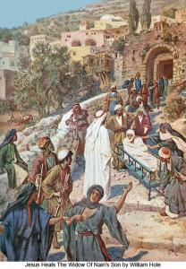 William Hole, Воскресіння сина наїнської вдови