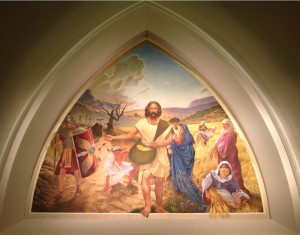 Gordon Conwell Seminary chapel, fresco, by Gerald Steinmeyer