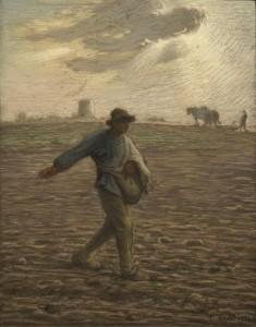 Сіяч, Jean François Millet, 1865