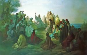 Нагорна Проповідь Gustave Dore