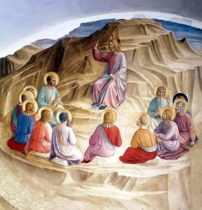 Нагорна проповідь Fra Angelico 1440