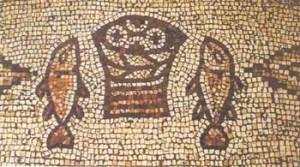 Мозаїка 5-го століття в Tabgha
