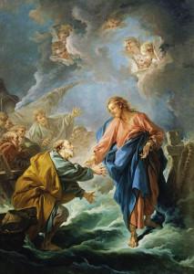 Pent 9-3 Saint_Pierre_tentant_de_marcher_sur_les_eaux_by_François_Boucher