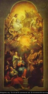 Зшестя Святого Духа, Anton Raphael Mengs