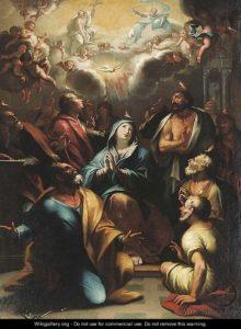 Зшестя Святого Духа, Domenico Piola