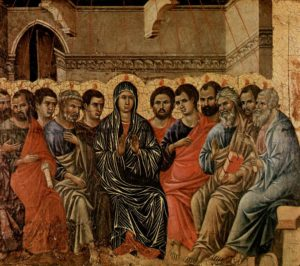 Зшестя Святого Духа, Duccio di Buoninsegna, 1308
