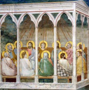 Зшестя Святого Духа, Giotto, 1305