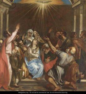 Зшестя Святого Духа, Tiziano Vecellio (Titian)