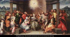 Зшестя Святого Духа, Lambert Lombard