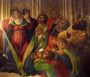 Зшестя Святого Духа, Alessandro Filipepi Botticelli
