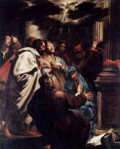 Зшестя Святого Духа, Anthony Van Dyck, 1620