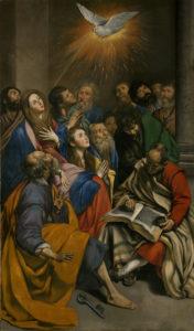 Зшестя Святого Духа, Juan Bautista Maino