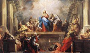 Зшестя Святого Духа, Jean II Restout, 1732.