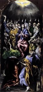 El Greco, The Pentecost (1596-1600)