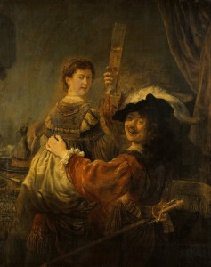Блудний син в борделі, Rembrandt, 1637