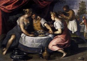Блудний син, Palma il Giovane, 1595-1600
