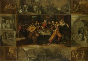 Притча про блудного сина, Frans Francken II, 1610