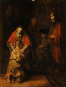 Повернення блудного сина, Rembrandt van Rijn, 1661–1669.