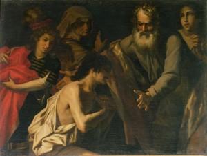 Повернення блудного сина, Giovanni Battista Benci, 1625-50