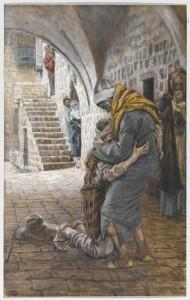 Повернення блудного сина, James Tissot