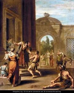 Повернення блудного сина, Sebastiano Ricci