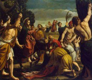 Вхід Господній у Єрусалим, Pedro de Orrente