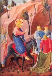 Вхід Господній у Єрусалим, Fra Angelico