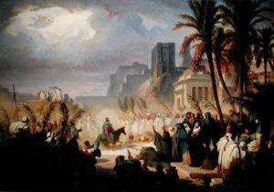 Вхід Господній у Єрусалим, Félix Louis Leullier
