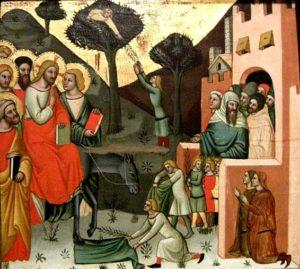 Вхід Господній у Єрусалим, Cristoforo da Bologna
