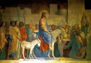 Вхід Господній у Єрусалим, Hippolyte Flandrin, 1842