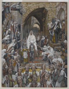 Вхід Господній у Єрусалим, James Tissot.