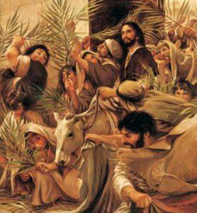 Вхід Господній у Єрусалим, Walter Rane
