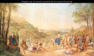 Вхід Господній у Єрусалим, Agostino Aglio