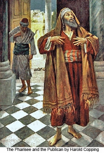 Митар і фарисей, Harold Copping