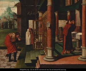 Митар і фарисей, Bernaert Van Orley