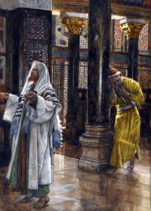 Митар і фарисей, James Tissot