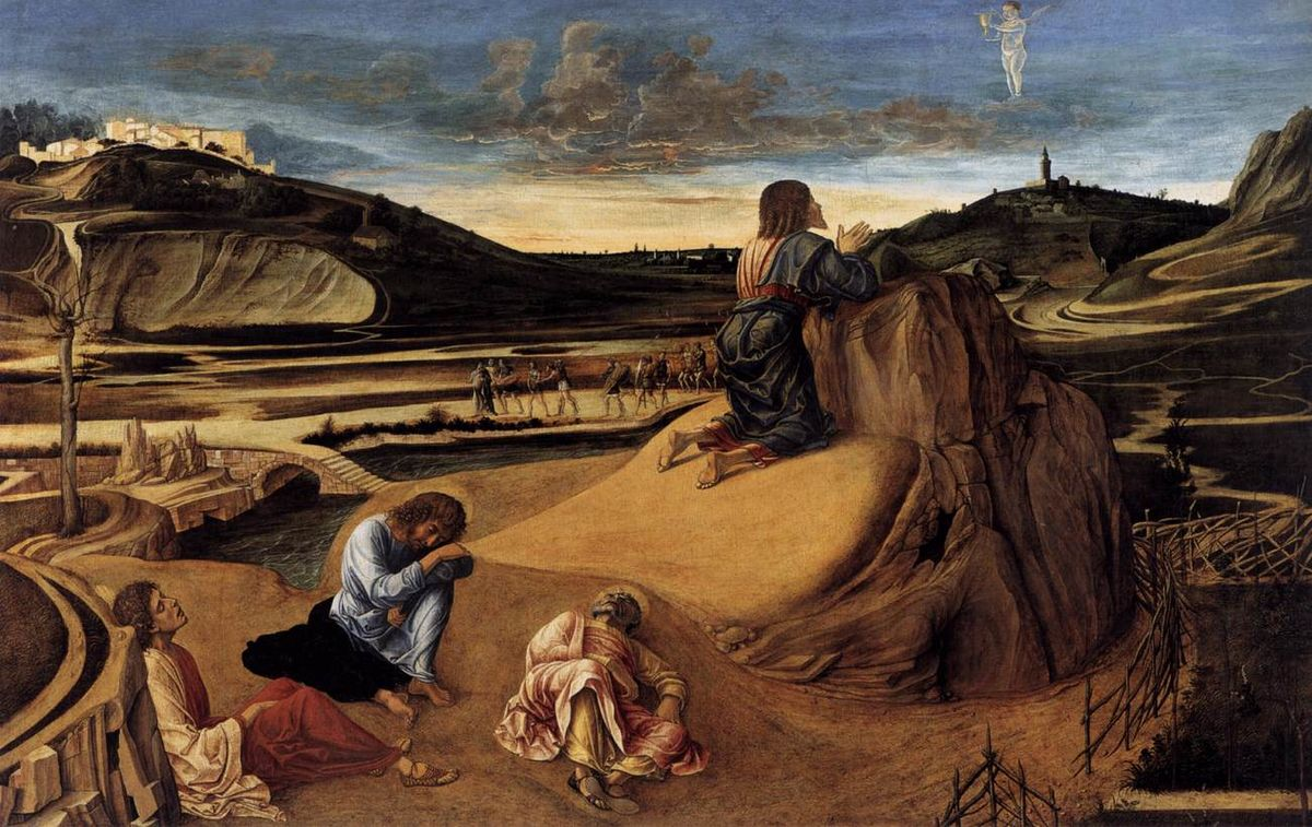 Молитва Христа в Гефсиманському саду, Giovanni Bellini
