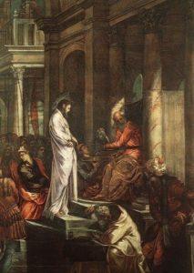 Христос перед Пилатом, Tintoretto, 1566-67