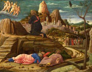 Молитва Христа в Гефсиманському саду, Andrea Mantegna, 1460