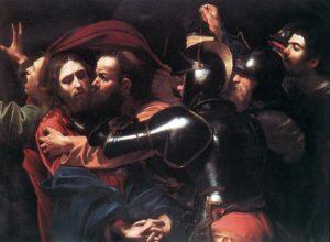 Поцілунок Юди, Caravaggio