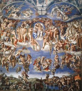 Страшний суд, Michelangelo