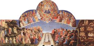 Ісус відділяє праведників ві грішників на Страшному суді, Fra Angelico, 1432-1435.