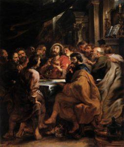Тайна Вечеря, Rubens, 1632
