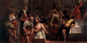 Омовіння ніг апостолів, Paolo Veronese