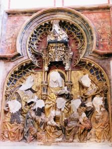 Знищені протестантами рельєфні зображення Собору св. Мартина, Утрехт