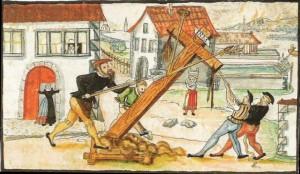 Знищення придорожного хреста в Цюріху, 1523