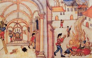 Знищення церковних зображень в Цюріху, 1524