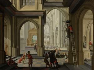 Іконоборче повстання 1630, by Dirck van Delen (60 років після подій)
