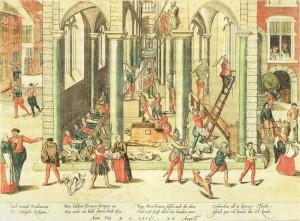Погром Собору Антверпенської Богородиці, 20 серпня 1566р, by Frans Hogenberg